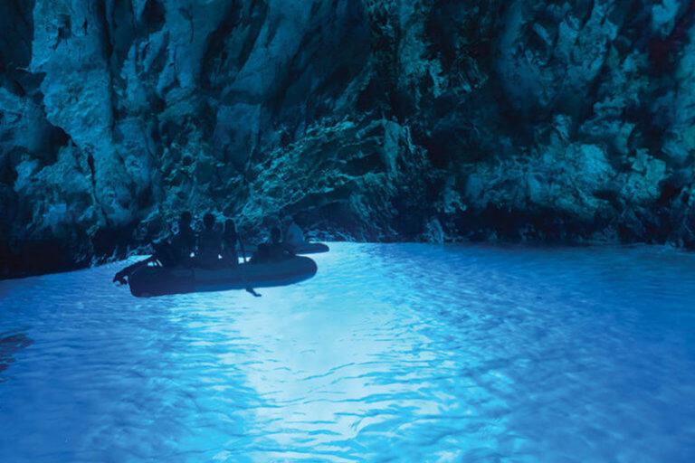 Big Blue Cave Tour